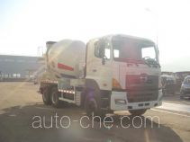 黄海牌DD5251GJB型混凝土搅拌运输车