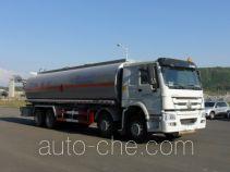 黄海牌DD5312GRY型易燃液体罐式运输车