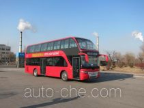 Huanghai DD6119B12DN double decker city bus
