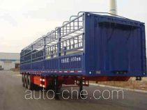 黄海牌DD9380CCY型仓栅式运输半挂车