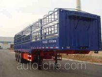 黄海牌DD9400CCY型仓栅式运输半挂车