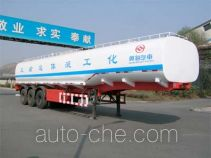 Huanghai DD9400GHY chemical liquid tank trailer