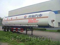 Huanghai DD9400GRY flammable liquid aluminum tank trailer