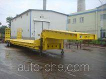 黄海牌DD9401TDP型低平板半挂车