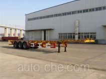 Huanghai DD9401TJZA container transport trailer