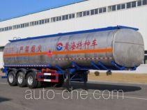 黄海牌DD9407GRY型易燃液体罐式运输半挂车