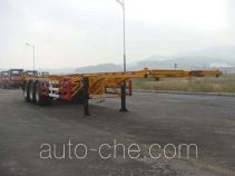 Huanghai DD9407TJZ container transport trailer