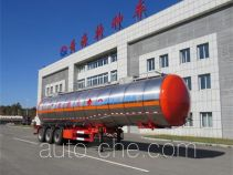 Huanghai DD9408GRY flammable liquid tank trailer