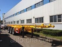 Huanghai DD9408TJZ container transport trailer