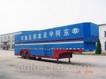 齐鲁中亚牌DEZ9170TCL型车辆运输半挂车