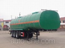 Qilu Zhongya DEZ9390GRY flammable liquid tank trailer