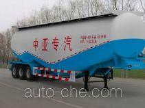 齐鲁中亚牌DEZ9400GFL型低密度粉粒物料运输半挂车