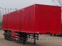 齐鲁中亚牌DEZ9401XXY型厢式运输半挂车