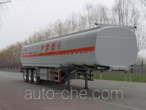 Qilu Zhongya DEZ9402GRY flammable liquid tank trailer