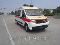 东风牌DFA5043XJH3A1M型救护车