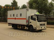 Dongfeng DFA5080XRQ12D3AC flammable gas transport van truck