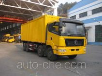 Teshang DFE5310XXYF box van truck