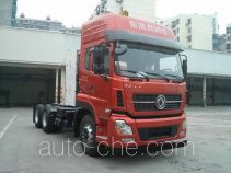 Dongfeng DFH4250A3 dangerous goods transport tractor unit