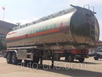 东风牌DFZ9352GYY型铝合金运油半挂车