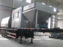 Rubber asphalt pavement trailer