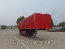 Zhicheng DHD9400XXY box body van trailer