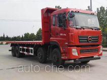 大力牌DLQ3310G5型平板自卸车
