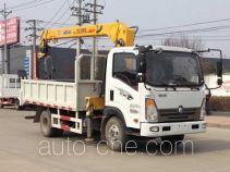 大力牌DLQ5040JSQW5型随车起重运输车