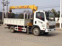 大力牌DLQ5070JSQW4型随车起重运输车