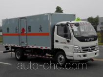 Dali DLQ5080XRYB5 flammable liquid transport van truck