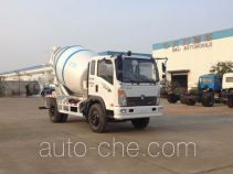大力牌DLQ5090GJBL4型混凝土搅拌运输车