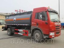 Dali DLQ5160GFWC4 corrosive substance transport tank truck