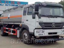 大力牌DLQ5160GFWZ5型腐蚀性物品罐式运输车