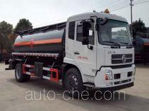 大力牌DLQ5160GRYD型易燃液体罐式运输车