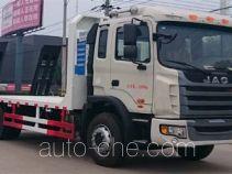 大力牌DLQ5160TPBY5型平板运输车