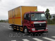 Dali DLQ5160XRQB5 flammable gas transport van truck