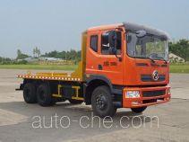 大力牌DLQ5250TLB型铝水包运输车