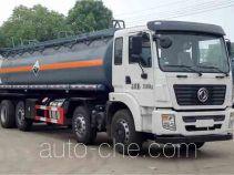 大力牌DLQ5310GFWE5型腐蚀性物品罐式运输车