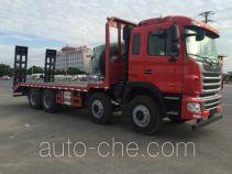 大力牌DLQ5311TPBY5型平板运输车