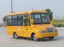 大力牌DLQ6668HX4型小学生专用校车