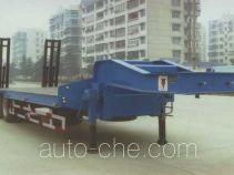 大力牌DLQ9201TDP型低平板运输半挂车