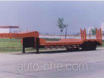 大力牌DLQ9221TDP型低平板运输半挂车