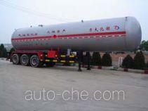 大力牌DLQ9340GTR型永久气体运输半挂车