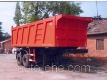 大力牌DLQ9350Z型自卸半挂车