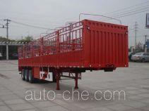 大力牌DLQ9400CCYZ1型仓栅式运输半挂车