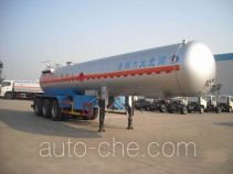 Dali DLQ9400GRY flammable liquid tank trailer