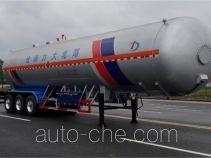 大力牌DLQ9400GYQSZ5型液化气体运输半挂车