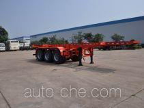 大力牌DLQ9400TJZS型集装箱运输半挂车