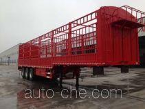 大力牌DLQ9401CCY型仓栅式运输半挂车