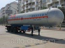 Dali DLQ9401GRY flammable liquid tank trailer