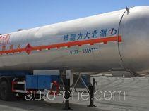Dali DLQ9402GYQS liquefied gas tank trailer